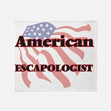 American Escapologist Throw Blanket