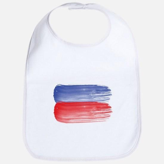 Russia flag russian Bib