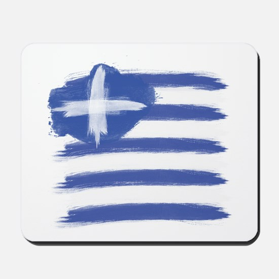 Greece Flag greek Mousepad