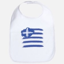 Greece Flag greek Bib