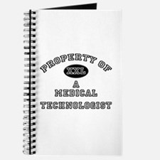 Property of a Medical Technologist Journal