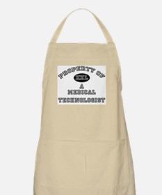 Property of a Medical Technologist BBQ Apron