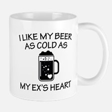 As Cold As My Ex's Heart Small Small Mug