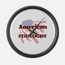 American Etiologist Large Wall Clock