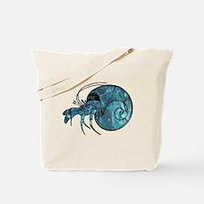 Funny Hermit crab Tote Bag
