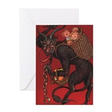 Cute Krampus Greeting Card