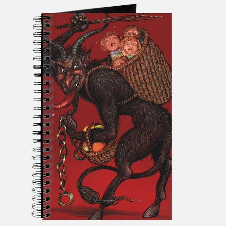 Cute Krampus Journal