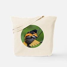 Cute Baltimore oriole Tote Bag