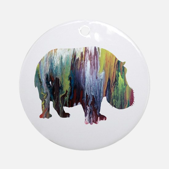 Cool Acrylic Round Ornament