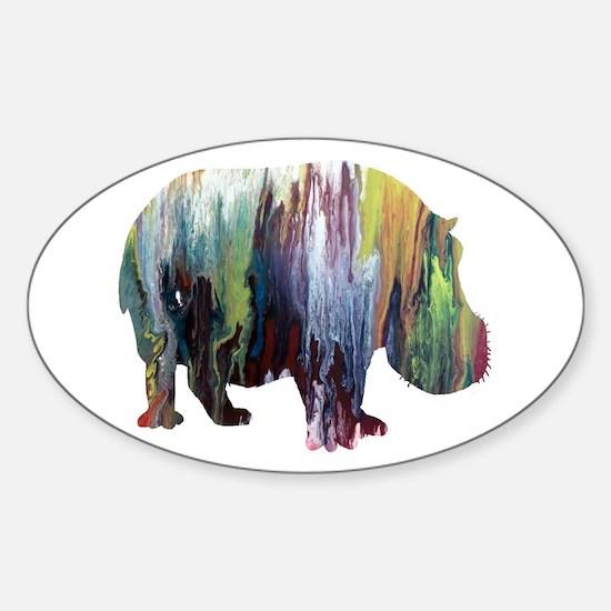 Acrylic Sticker (Oval)