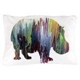 Hippopotamus Pillow Cases