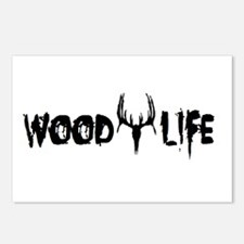 Wood Life 2 Postcards (Package of 8)