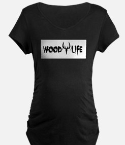 Wood Life 2 Maternity T-Shirt