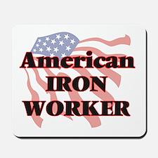 American Iron Worker Mousepad