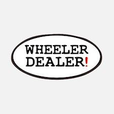 WHEELER DEALER! Patch