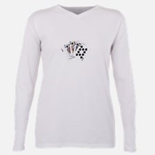 Unique Show me the money Plus Size Long Sleeve Tee