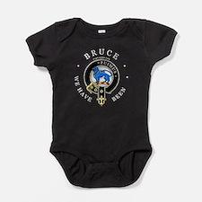 Cute Scottish heraldry Baby Bodysuit