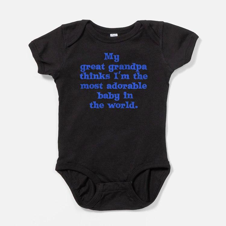 Cute Great granddaughter Baby Bodysuit