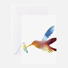 humming bird Greeting Cards