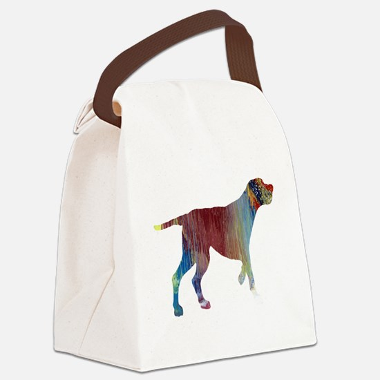 Funny Redbone coonhound Canvas Lunch Bag