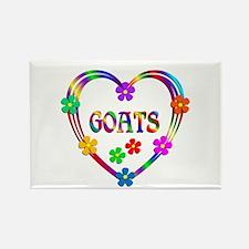 Goat Heart Rectangle Magnet