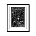 Hastur Framed Panel Print