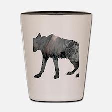 Cool Hyena Shot Glass