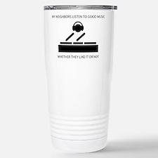Cute Dj humor Travel Mug