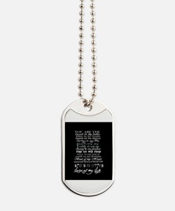 sweet love quote Dog Tags
