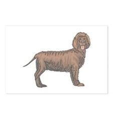 Curly Coated Retriever Postcards (Package of 8)