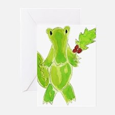 Cute Alligator christmas Greeting Cards (Pk of 20)