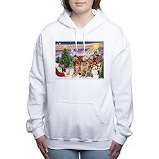 Funny Help Women's Hooded Sweatshirt