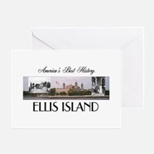 ABH Ellis Island Greeting Card