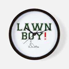 LAWN BOY! Wall Clock