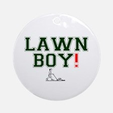 LAWN BOY! Round Ornament