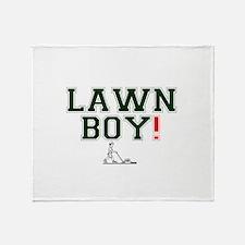 LAWN BOY! Throw Blanket