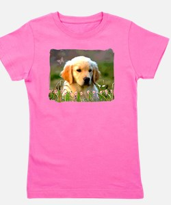 Unique Retriever Girl's Tee