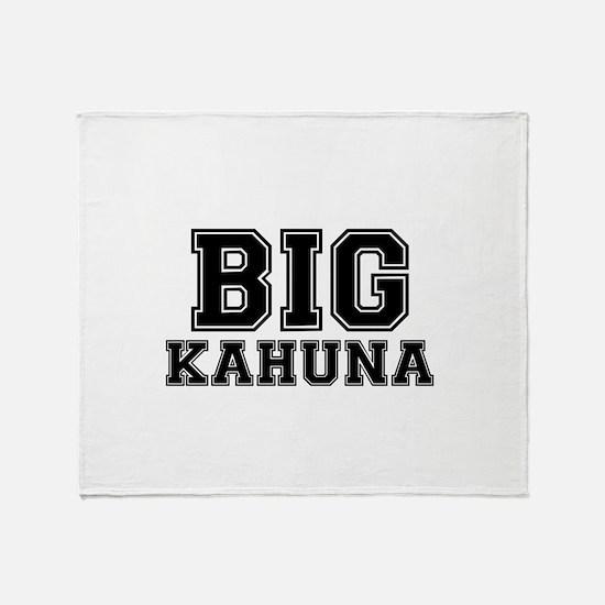 BIG KAHUNA Throw Blanket