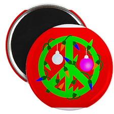 Unique Peace christmas Magnet