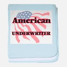 American Underwriter baby blanket