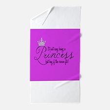 Cute Princess Beach Towel