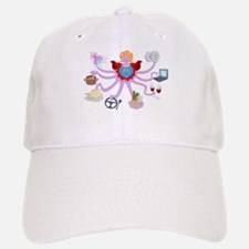 Super Mom Baseball Baseball Cap