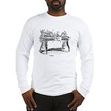 Wood turning Long Sleeve T-shirts
