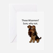 Don't mistake these three as wiseme Greeting Cards