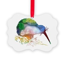 Unique Bird art Ornament