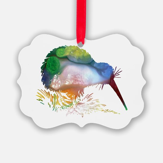 Cute Birds Ornament
