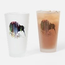 Cute Him her Drinking Glass