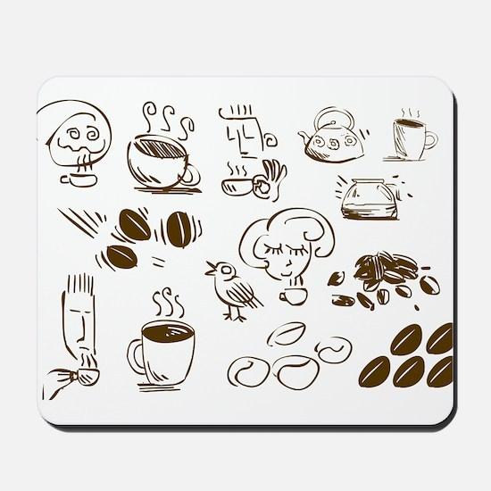 Coffee Coffee Coffee Mousepad