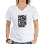 Wilbur Whateley Women's V-Neck T-Shirt