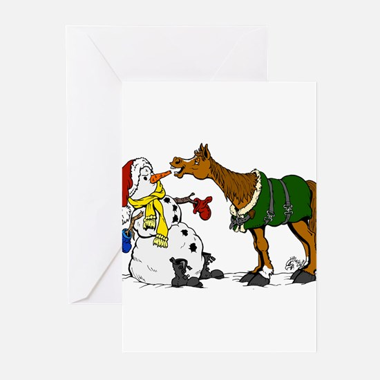 Unique Christmas horse Greeting Cards (Pk of 10)